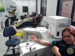 Guarda Civil de Taubaté faz campanha de doação de sangue